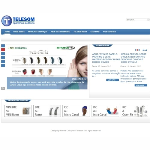 Template Website Telesom